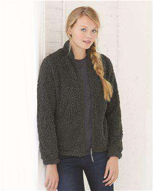 Brand: Boxercraft | Style: Q12 | Product: Sherpa Women's Full-Zip Jacket