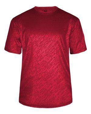 Badger Sport Men's Line Embossed T-Shirt