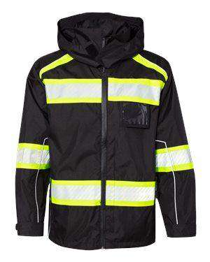 ML Kishigo Men's Enhance Visibility Ripstop Jacket