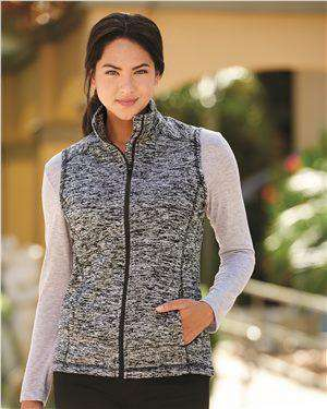 Brand: J. America | Style: 8625 | Product: Cosmic Fleece Women's Vest
