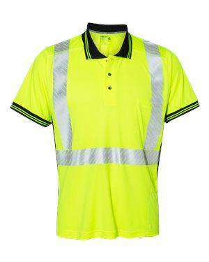 ML Kishigo Men's Sunblock Pocket Safety Polo Shirt - 9220