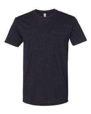Next Level Men's Lightweight Pocket Crew T-Shirt