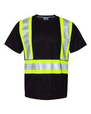ML Kishigo Men's Enhance Visibility Safety T-Shirt