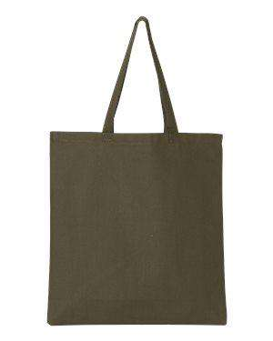Q-Tees Promotional Canvas Tote Bag