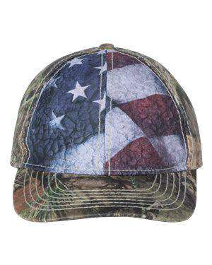 Outdoor Cap Flag Front Panel Camouflage Cap