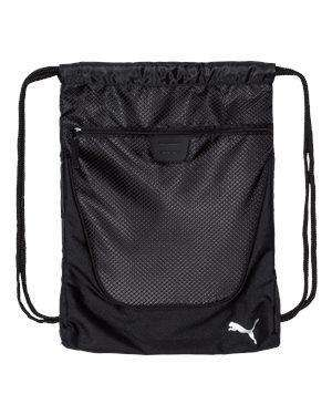 Puma Zippered Pocket Cinch Sack