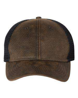 Sportsman Faux Waxy Trucker Cap - SP3250