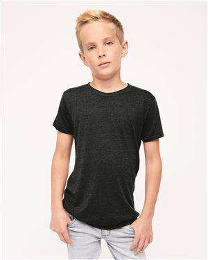 Brand: American Apparel | Style: TR201W | Product: Youth Triblend T-Shirt