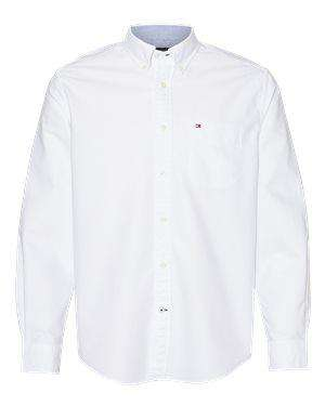 Tommy Hilfiger Men's New England Oxford Dress Shirt - 13H1864