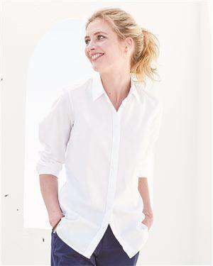 Brand: Tommy Hilfiger | Style: 13H4378 | Product: Women's New England Solid Oxford Shirt