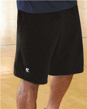 Brand: Russell Athletic | Style: 25843M | Product: Essential Jersey Cotton Shorts with Pockets