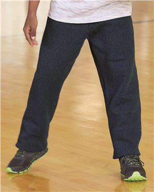 Brand: Russell Athletic | Style: 596HBB | Product: Dri Power® Youth Open Bottom Sweatpants