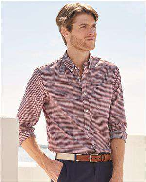 Brand: Tommy Hilfiger | Style: 13H1863 | Product: 100s Two-Ply Gingham Shirt