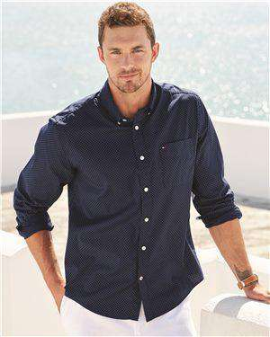 Brand: Tommy Hilfiger | Style: 13H4417 | Product: Polka Dot Shirt