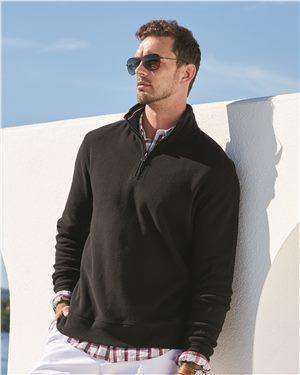 Brand: Tommy Hilfiger | Style: 13H1858 | Product: Bill Quarter-Zip Pullover Sweatshirt