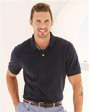 Brand: Tommy Hilfiger | Style: 13H1867 | Product: Classic Fit Ivy Pique Sport Shirt