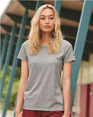Brand: Champion | Style: CP20 | Product: Women's Premium Fashion Classics Short Sleeve T-Shirt