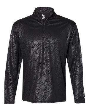 Badger Sport Men's Self-Fabric Collar Pullover Jacket