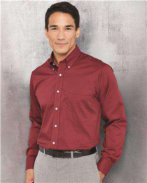 Brand: Van Heusen | Style: 13V0521 | Product: Long Sleeve Baby Twill Shirt