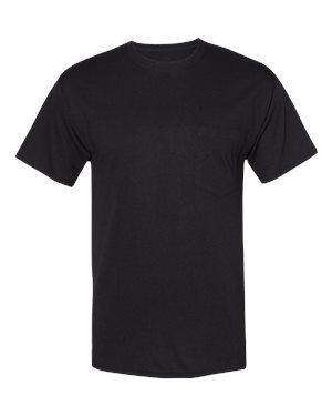 Hanes Men's Fresh IQ Workwear Pocket T-Shirt - W110