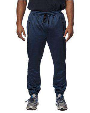 Brand: Burnside | Style: 8801 | Product: Heather Performance Joggers