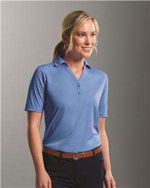 Brand: Prim + Preux | Style: 1997L | Product: Women's Dynamic Y-Neck Polo