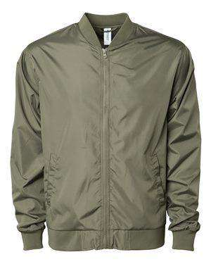 Independent Trading Men's Welt Pocket Bomber Jacket