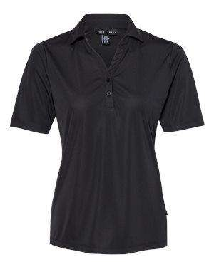 Prim + Preux Women's Dynamic Y-Neck Polo Shirt