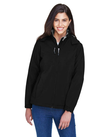 North End Women's Jackets | Soft Shell (78080) - model picture