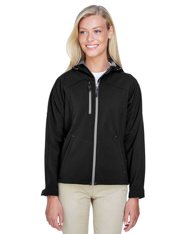 North End Women's Jackets | Soft Shell (78166) - model picture