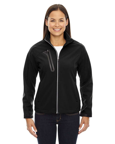 North End Women's Jackets | Soft Shell (78176) - model picture