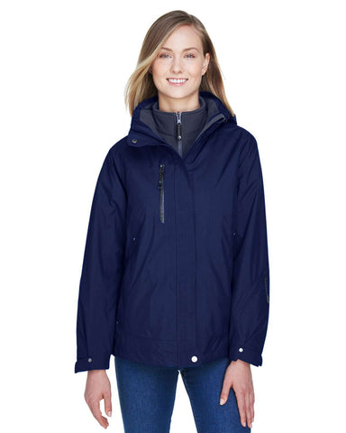 North End Women's Jackets | Hoodie (78178) - model picture