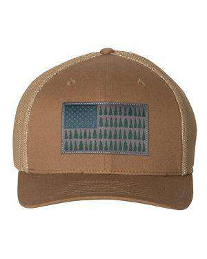 Columbia Tree Flag Sunblock Trucker Cap
