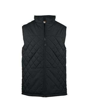 Brand: Badger | Style: 7666 | Product: Women's Quilted Vest