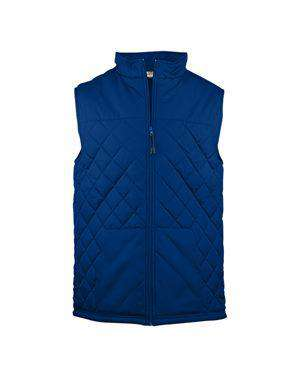 Brand: Badger | Style: 7660 | Product: Quilted Vest