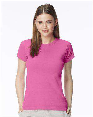 Brand: Comfort Colors | Style: 3333 | Product: Pigment-Dyed Ringspun Women's Short Sleeve T-Shirt