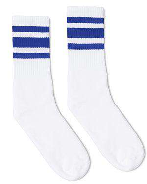 Brand: SOCCO | Style: SC100 | Product: Striped Crew Sock