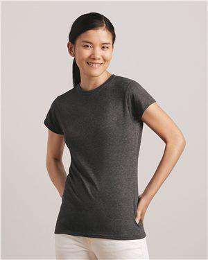 Brand: Gildan | Style: 64000L | Product: Softstyle Women's T-Shirt