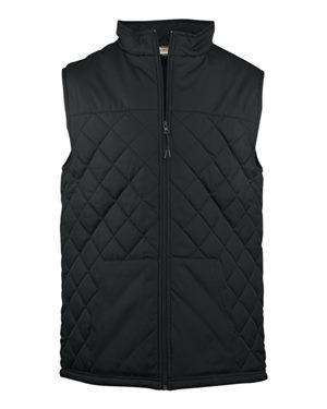 Badger Sport Men's Pouch Pocket Quilted Vest