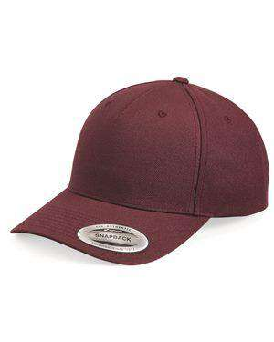 Brand: Yupoong | Style: 5789M | Product: 5-Panel Wool Blend Cap