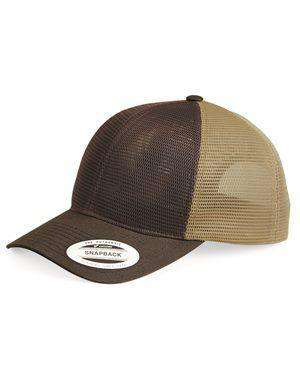 Brand: Yupoong | Style: 6360 | Product: Omnimesh Snapback Cap
