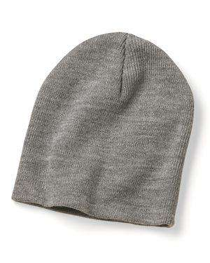 "Brand: Bayside | Style: 3888 | Product: Union Made 8 1/2"" Knit Beanie"