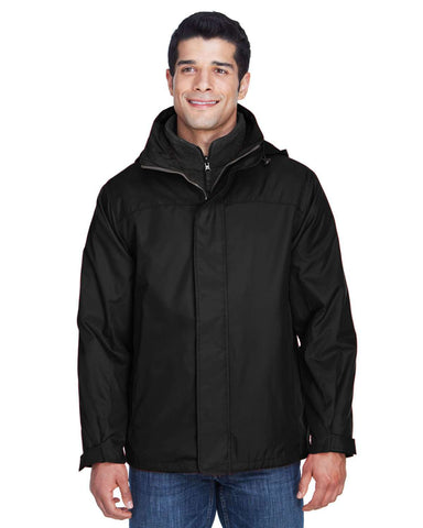 North End Men's Jackets | Full-Zip (88130) - model picture