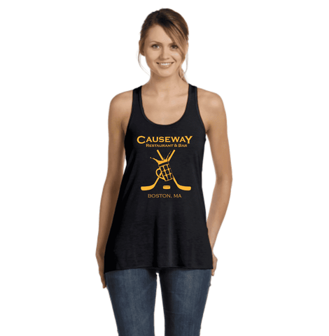 Ladies Causeway Hockey Mug Flowy Racerback Tank