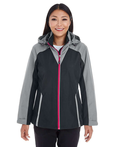 North End Women's Jackets | Hoodie (NE700W) - model picture