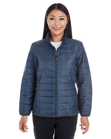 North End Women's Jackets | Full-Zip (NE701W) - model picture