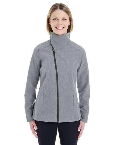 North End Women's Jackets | Soft Shell (NE705W) - model picture