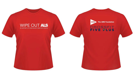 CrossFit Five Plus Wipe Out ALS Shirt