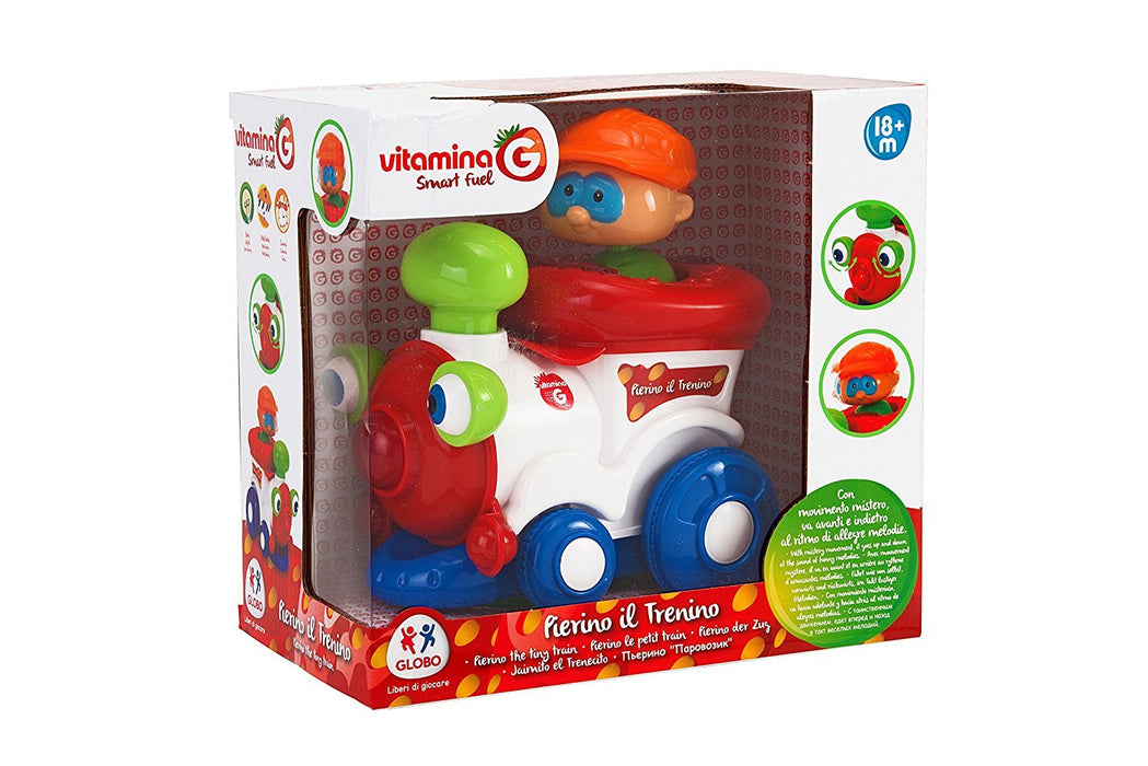Globo Toys Globo - 5154 Vitamina_G Bump and Go Train with Light and Sound