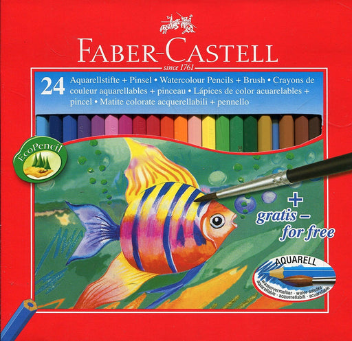 Faber-Castell Water Colour Pencils (Pack of 24)